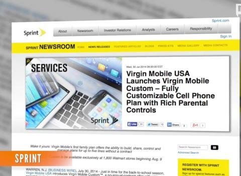 News video: Sprint's Custom Prepaid Plans Draw Net Neutrality Fire