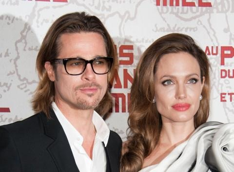 News video: Angelina Jolie: 'Brad and I Write Love Letters to Each Other'